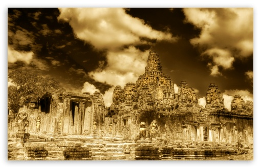 The Towers Of Angkor Thom, Cambodia HD wallpaper for Wide 16:10 5:3 Widescreen WHXGA WQXGA WUXGA WXGA WGA ; HD 16:9 High Definition WQHD QWXGA 1080p 900p 720p QHD nHD ; Standard 4:3 5:4 3:2 Fullscreen UXGA XGA SVGA QSXGA SXGA DVGA HVGA HQVGA devices ( Apple PowerBook G4 iPhone 4 3G 3GS iPod Touch ) ; Tablet 1:1 ; iPad 1/2/Mini ; Mobile 4:3 5:3 3:2 16:9 5:4 - UXGA XGA SVGA WGA DVGA HVGA HQVGA devices ( Apple PowerBook G4 iPhone 4 3G 3GS iPod Touch ) WQHD QWXGA 1080p 900p 720p QHD nHD QSXGA SXGA ;