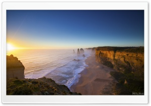 The Twelve Apostles Great Ocean Road Victoria Australia HD Wide Wallpaper for Widescreen