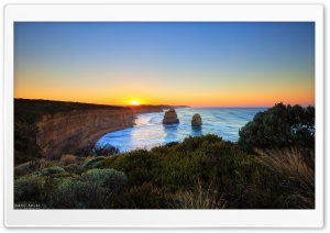 The Twelve Apostles HDR HD Wide Wallpaper for Widescreen