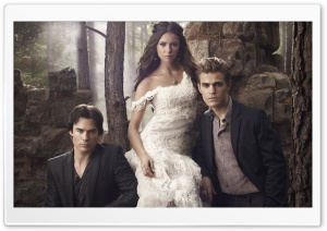 The Vampire Diaries HD Wide Wallpaper for Widescreen