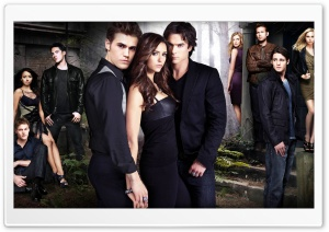 The Vampire Diaries (Season 2) HD Wide Wallpaper for Widescreen