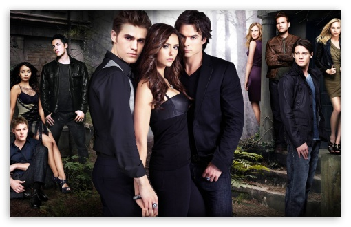 The Vampire Diaries (Season 2) ❤ 4K UHD Wallpaper for Wide 16:10 5:3 Widescreen WHXGA WQXGA WUXGA WXGA WGA ; iPad 1/2/Mini ; Mobile 4:3 5:3 - UXGA XGA SVGA WGA ;