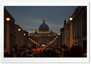 The Vatican HD Wide Wallpaper for Widescreen