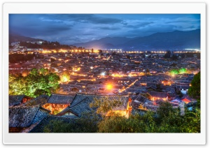 The Village Of Lijiang HD Wide Wallpaper for Widescreen