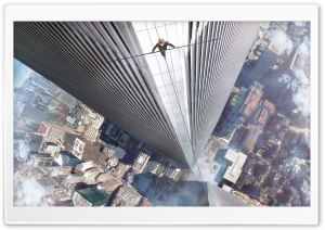 The Walk Movie HD Wide Wallpaper for Widescreen