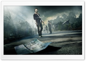 The Walking Dead Ultra HD Wallpaper for 4K UHD Widescreen desktop, tablet & smartphone