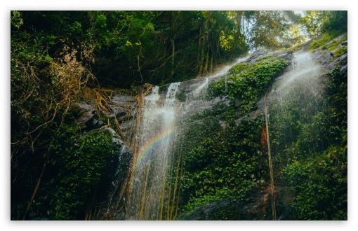 Download The Waterfall UltraHD Wallpaper
