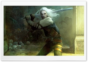 The Witcher HD Wide Wallpaper for Widescreen