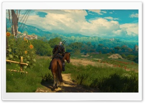 The Witcher 3 Blood and Wine HD Wide Wallpaper for 4K UHD Widescreen desktop & smartphone