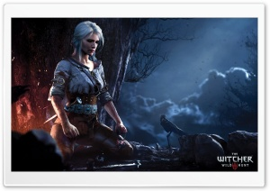 The Witcher 3 Wild Hunt Ciri Ultra HD Wallpaper for 4K UHD Widescreen desktop, tablet & smartphone