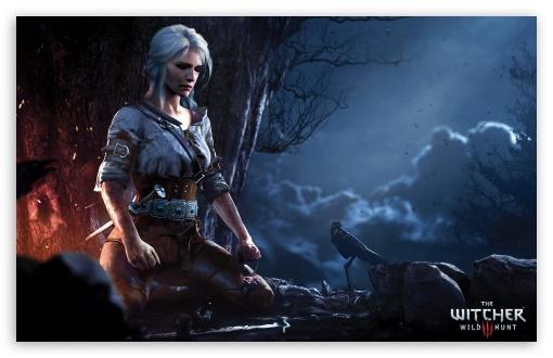 The Witcher 3 Wild Hunt Ciri Ultra Hd Desktop Background Wallpaper