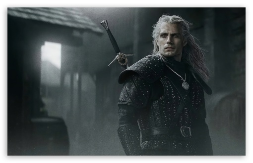 Download The Witcher Henry Cavill UltraHD Wallpaper