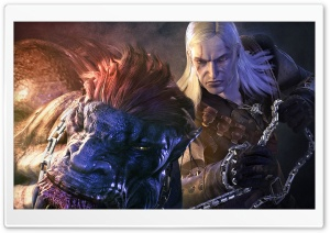 The Witcher, Killing The Beast HD Wide Wallpaper for Widescreen
