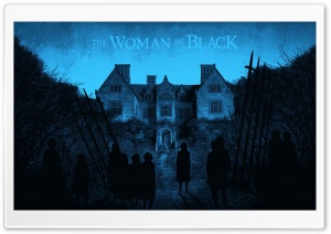 The Woman in Black (2012) HD Wide Wallpaper for Widescreen