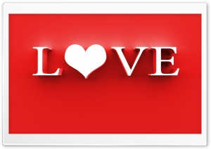 the word Love HD Wide Wallpaper for Widescreen
