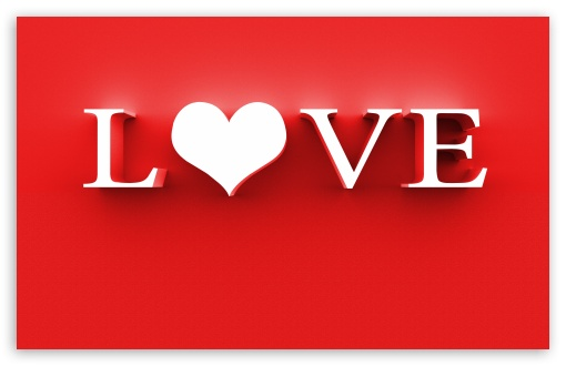 Download The Word Love Hd Wallpaper