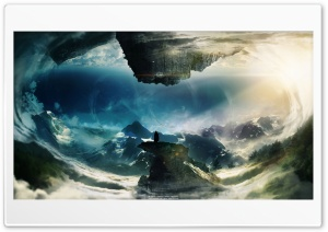 The World Upside Down HD Wide Wallpaper for Widescreen