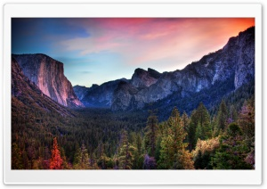 The Yosemite Valley HD Wide Wallpaper for Widescreen