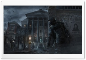 Thief 4 Bank Heist Mission HD Wide Wallpaper for Widescreen