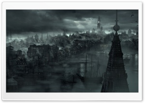 Thief 4 Concept Art HD Wide Wallpaper for Widescreen