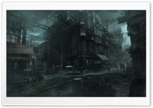 Thief City Video Game 2014 HD Wide Wallpaper for Widescreen