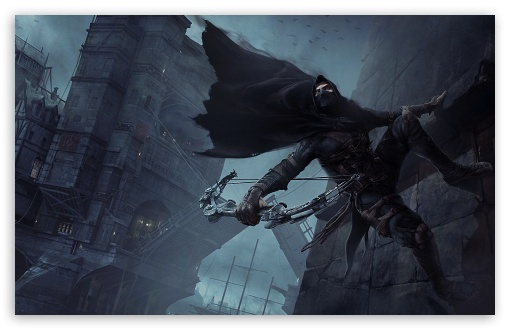 Thief Game 2014 4K HD Desktop Wallpaper For 4K Ultra HD TV