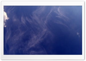 Thin Clouds Sky HD Wide Wallpaper for Widescreen