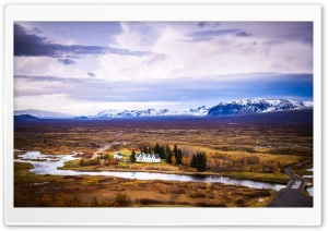 Thingvellir National Park, Iceland HD Wide Wallpaper for Widescreen