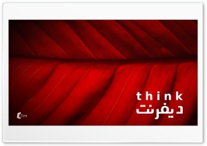 Think Different HD Wide Wallpaper for Widescreen