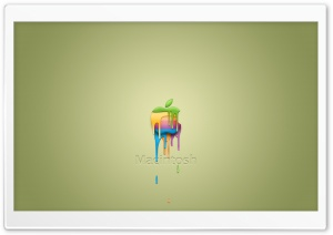 Think Different Apple Mac 21 HD Wide Wallpaper for Widescreen