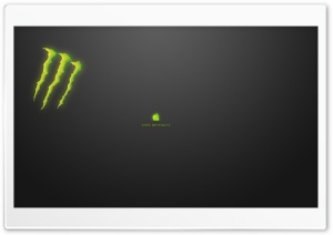 Think Different Monster HD Wide Wallpaper for Widescreen