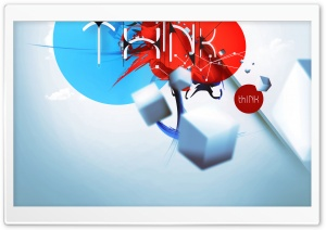 thINK (iPad retina optimized) V1 HD Wide Wallpaper for Widescreen
