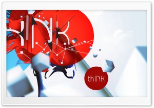 thINK (iPad retina optimized) V4 HD Wide Wallpaper for Widescreen