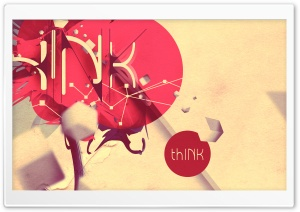 thINK (iPad retina optimized) Vintage V4 HD Wide Wallpaper for Widescreen