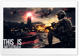 THIS IS BATTLEFIELD 4 HD Wide Wallpaper for Widescreen