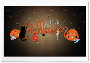 This Is Halloween HD Wide Wallpaper for 4K UHD Widescreen desktop & smartphone