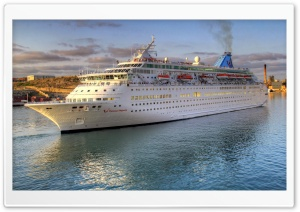 Thomson Majesty Cruise Ship HD Wide Wallpaper for 4K UHD Widescreen desktop & smartphone