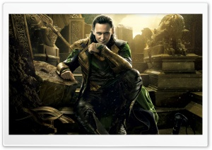 Thor 2 The Dark World Loki HD Wide Wallpaper for 4K UHD Widescreen desktop & smartphone