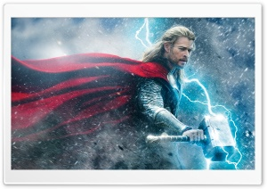 Thor the Dark World 2013 Movie HD Wide Wallpaper for Widescreen