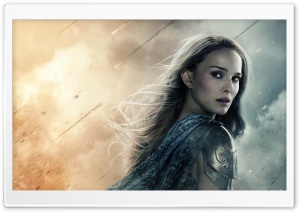 Thor the Dark World Jane Foster HD Wide Wallpaper for Widescreen