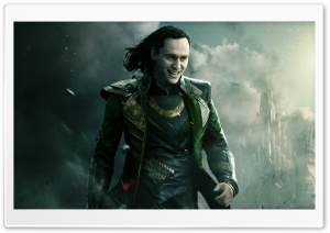 Thor The Dark World Loki HD Wide Wallpaper for Widescreen
