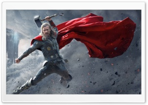 Thor The Dark World Super Hero Picture HD Wide Wallpaper for 4K UHD Widescreen desktop & smartphone