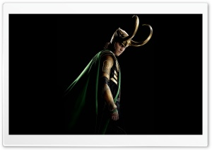 Thor The Dark World Tom Hiddleston as Loki HD Wide Wallpaper for 4K UHD Widescreen desktop & smartphone