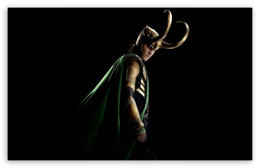 Thor The Dark World Tom Hiddleston as Loki 4K HD Desktop ...