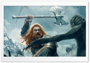 Thor The Dark World Volstagg HD Wide Wallpaper for Widescreen