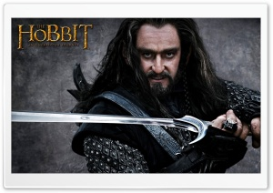 Thorin Oakenshield, The Hobbit HD Wide Wallpaper for Widescreen