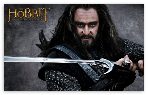 Thorin Oakenshield, The Hobbit HD wallpaper for Wide 16:10 5:3 Widescreen WHXGA WQXGA WUXGA WXGA WGA ; HD 16:9 High Definition WQHD QWXGA 1080p 900p 720p QHD nHD ; Mobile 5:3 16:9 - WGA WQHD QWXGA 1080p 900p 720p QHD nHD ;