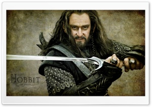 Thorin Oakenshield, The Hobbit An Unexpected Journey HD Wide Wallpaper for 4K UHD Widescreen desktop & smartphone