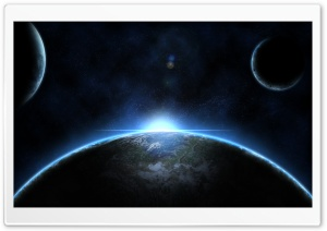 Three Planets HD Wide Wallpaper for Widescreen