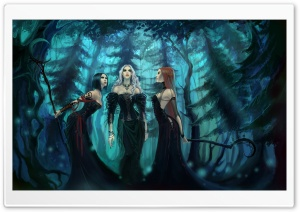 Three Witches HD Wide Wallpaper for Widescreen